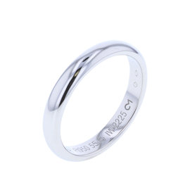 Cartier Platinum Wedding Band Ring Size 7