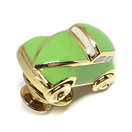 Ponte Vecchio 18K Yellow Gold Car Tie Tac Lapel Brooch