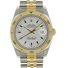 Rolex Datejust Turn-O-Graph 116263 36mm Mens Watch