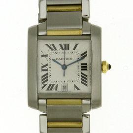 Cartier Tank Francaise 2303 25mm Mens Watch