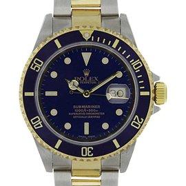 Rolex Submariner 16613 40mm Mens Watch