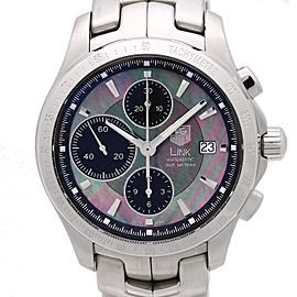 Tag Heuer Link Chrono CJF211M.BA0598 41mm Mens Watch