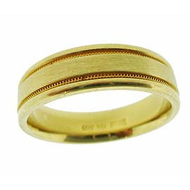 Scott Kay 19K Yellow Gold Wedding Ring Size 10