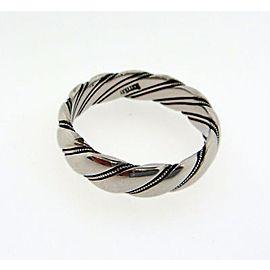 Scott Kay Palladium Wedding Ring Size 11