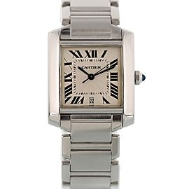 Cartier Tank Francaise 2302 28mm Unisex Watch
