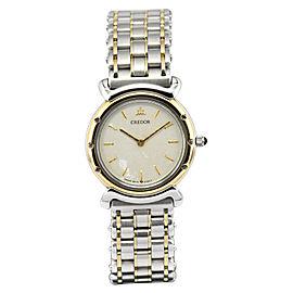 Seiko Credor 5A70-0040 23mm Womens Watch