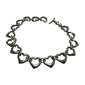 Tiffany & Co. Elsa Peretti 925 Sterling Silver Heart Bracelet
