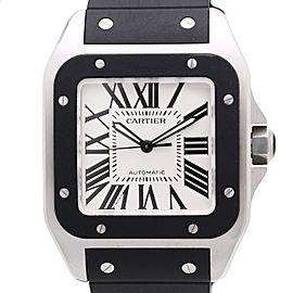 Cartier Santos 100 W20121U2 38mm Mens Watch