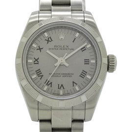 Rolex Oyster Perpetual 176210 26mm Womens Watch
