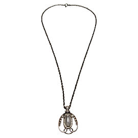 Georg Jensen 925 Sterling Silver Pendant Necklace