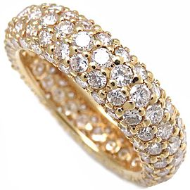 Vecchio 18K Yellow Gold Diamond Ring Size 6.5