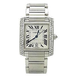 Cartier Tank Francaise 2302 28mm Womens Watch