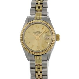 Rolex Date Oyster 69173 26mm Womens Vintage Watch