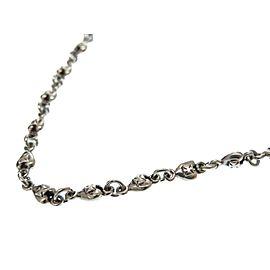 Loree Rodkin Sterling Silver Heart Necklace