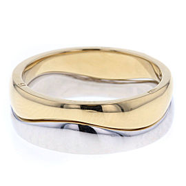 Cartier Ring 18K Yellow & White Gold Size 5.75
