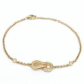 Cartier Agrafe Bracelet 18K Yellow Gold with Diamond