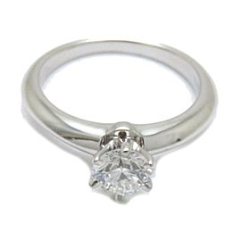 Tiffany & Co. Platinum with Diamond Ring Size 3.75
