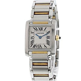 Cartier Tank Francaise 2384 20mm Womens Watch