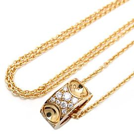 Louis Vuitton Empreinte 18K Yellow Gold Diamond Necklace