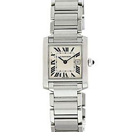 Cartier Tank Francaise 2300 25mm Womens Watch