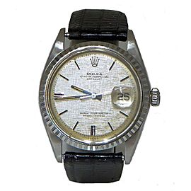 Rolex Vintage Datejust 1603 36mm Mens Watch