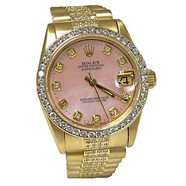 Rolex Datejust 68278 30mm Womens Watch