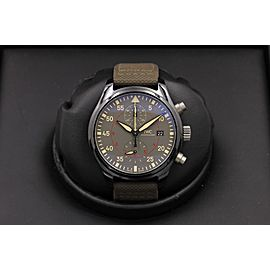 IWC Pilot Top Gun Iw389002 44mm Mens Watch