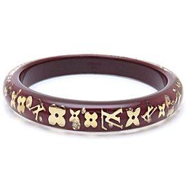 Louis Vuitton Encre Jaune Bangle Bracelet