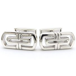 Bulgari Parentesi 925 Sterling Silver Cufflinks