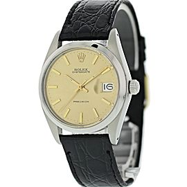 Rolex OysterDate Precision 6694 Vintage 34mm Unisex Watch