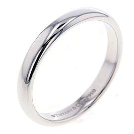 Tiffany & Co. Lucida Platinum Ring Size 7.75