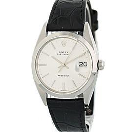 Rolex OysterDate Precision 6694 Vintage 34mm Mens Watch