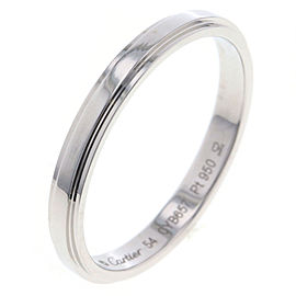 Cartier Platinum Ring Size 6.75