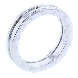 Bulgari B.zero 18k White Gold Ring Size 9