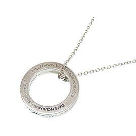Balenciaga Sterling Silver Necklace