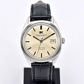 IWC Schaffhausen Yacht Club Vintage 36mm Mens Watch