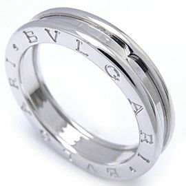 Bulgari B.zero1 750 White Gold Ring Size 9.25