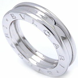 Bulgari B.zero1 750 White Gold Ring Size 5