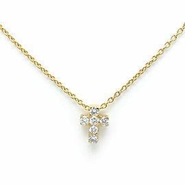 Van Cleef & Arpels 18K YG Diamond Necklace