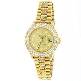 Rolex President Datejust 26mm Womens Watch