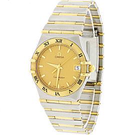 Omega Constellation ES25378020 34mm Unisex Watch
