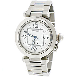 Cartier Pasha C Big Date W31044M7 35mm Unisex Watch
