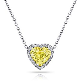 David Gross Platinum Sapphire Necklace