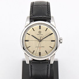Omega Seamaster Vintage 34mm Mens Watch