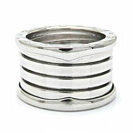 BVLGARI 18K WG B.ZERO1 5 Band Ring Size 6