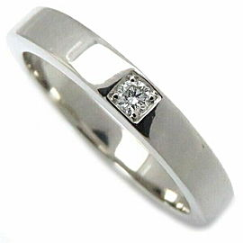 BVLGARI Platinum Marry Me Diamond Ring Size 5.25
