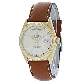 Vintage Rolex Day Date President 1802 Semi Bubble Back Mens Watch