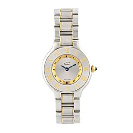 Ladies Must de Cartier 21 SS / 18K YG 1340
