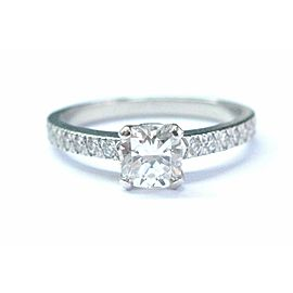 Tiffany & Co Platinum Novo Diamond Engagement Ring G-VS1 .71CT