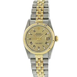 Rolex Oyster Perpetual Datejust 68273 Midsize Ladies Watch